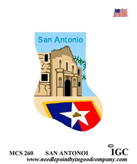 San Antonio mini sock