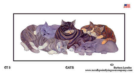 Cats - Barbara Lavallee