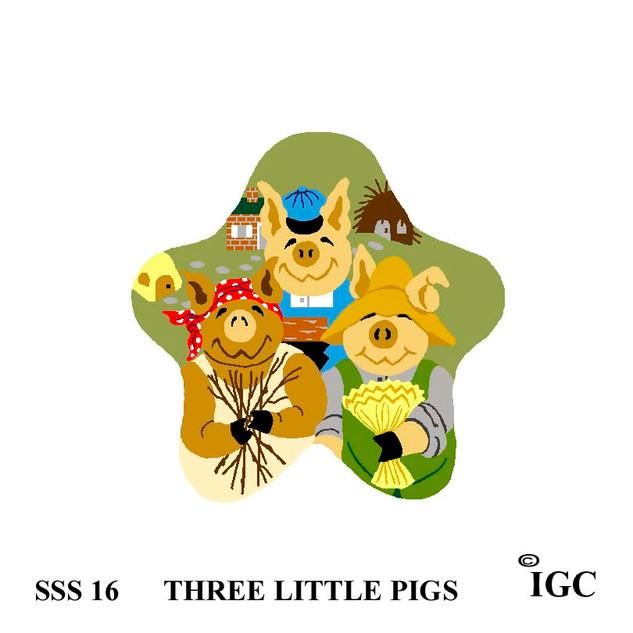 Three Little Pigs Star