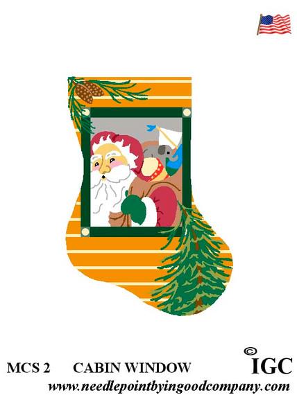 Cabin Window mini sock