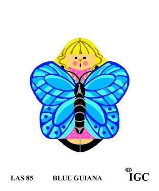Blue Guiana Angel