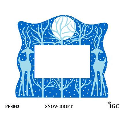 Snow Drift Large Frame