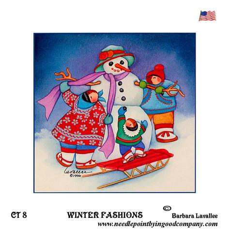 Winter Fashions - Barbara Lavallee