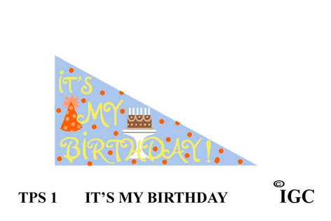 It's My Birthday Pennant