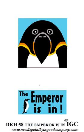The Emperor is in doorknob hanger