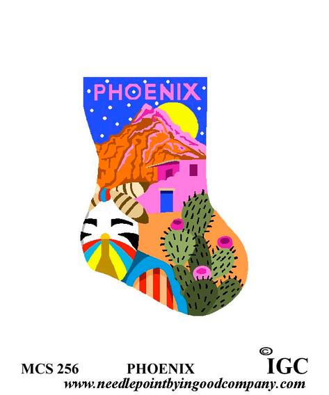 Phoenix mini sock