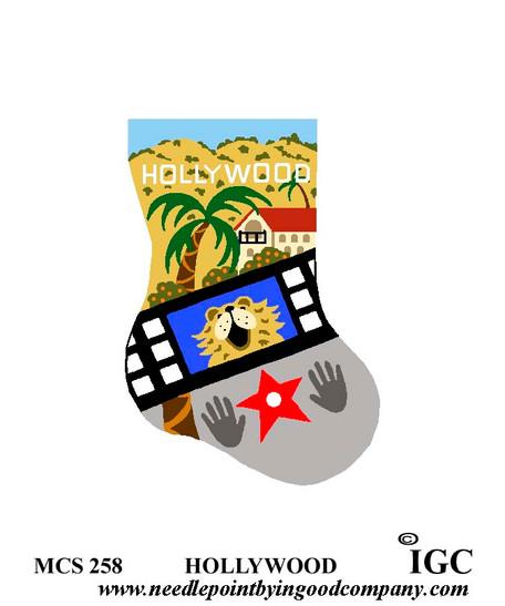 Hollywood mini sock
