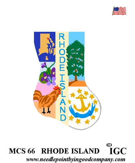 Rhode Island Mini Sock