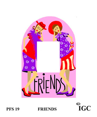 Red Hat Friends Small Frame