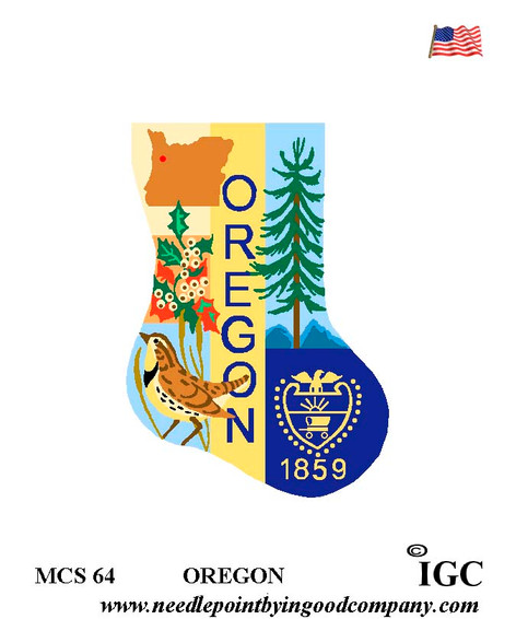 Oregon Mini Sock