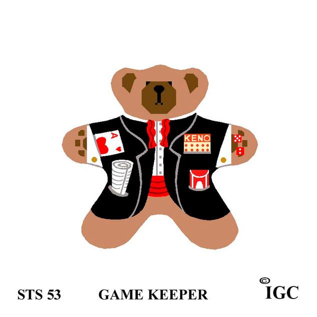 Game Keeper Bear
