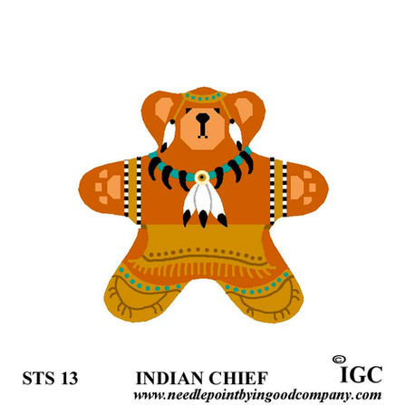 Indian Chief Bear