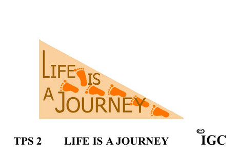 Life Is A Journey Pennant