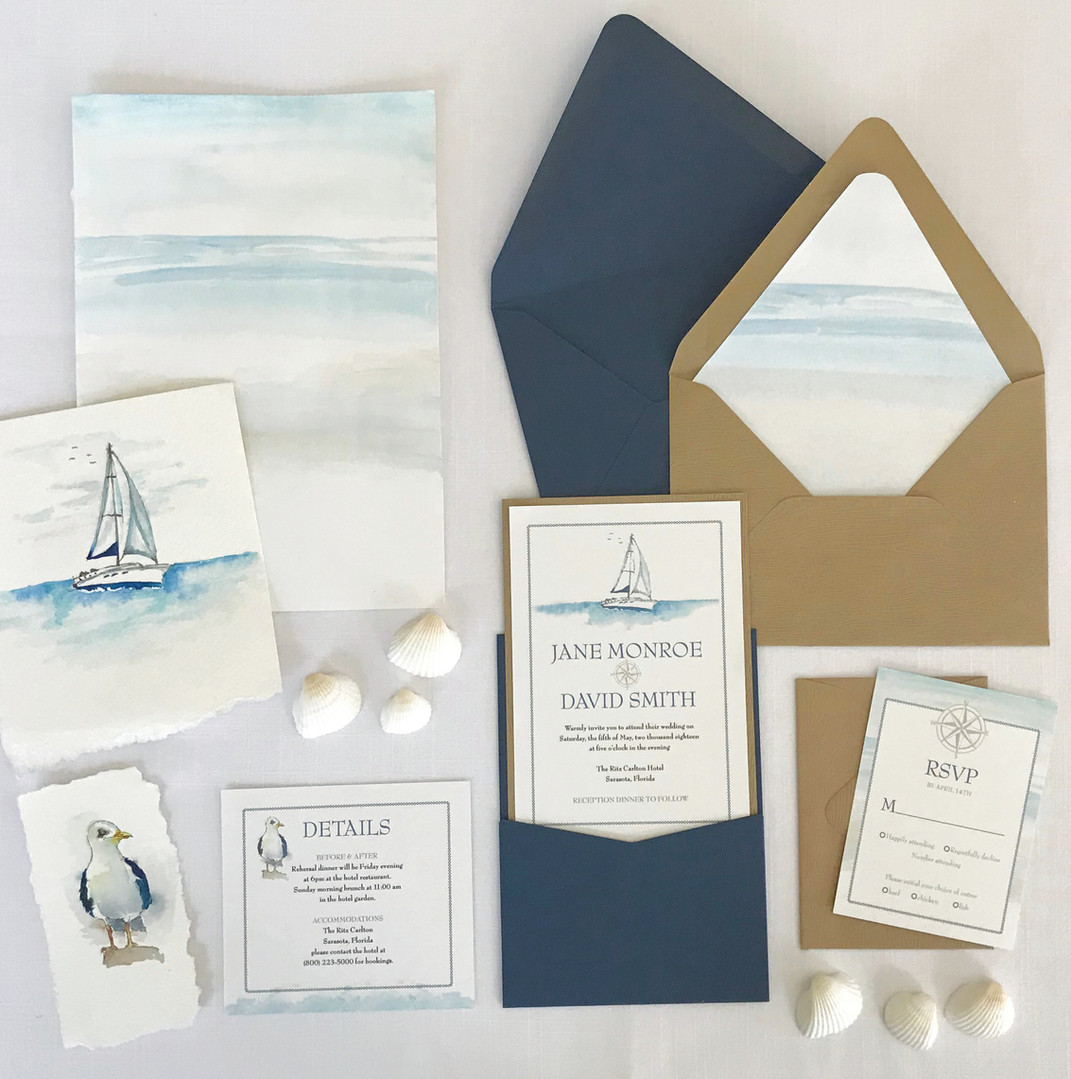 Sail Away invite