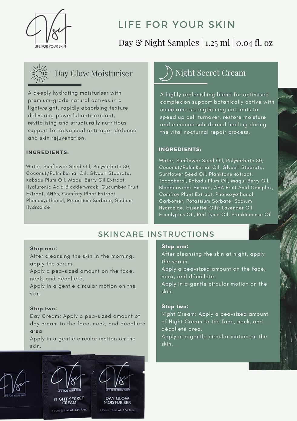Vsc Day & Night Skincare Sample Pack Info Sheet .png