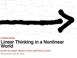 Linear Thinking in a Nonlinear World