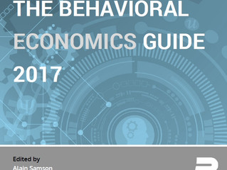 The Behavioral Economics Guide 2017
