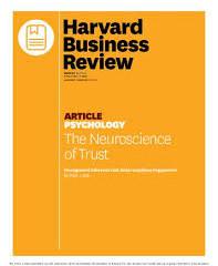 The Neuroscience of Trust