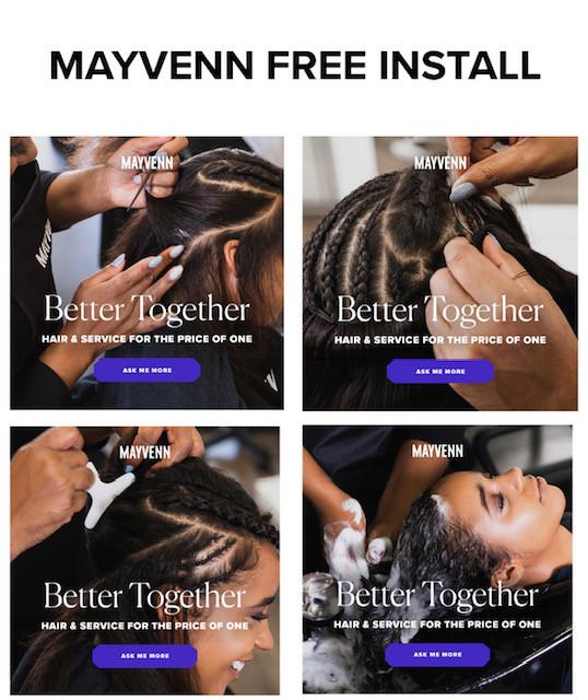 Mayvenn FREE Install
