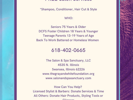 FREE Cosmetology Services!