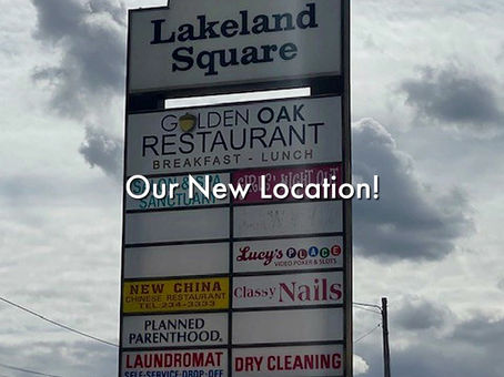 Our New Location!