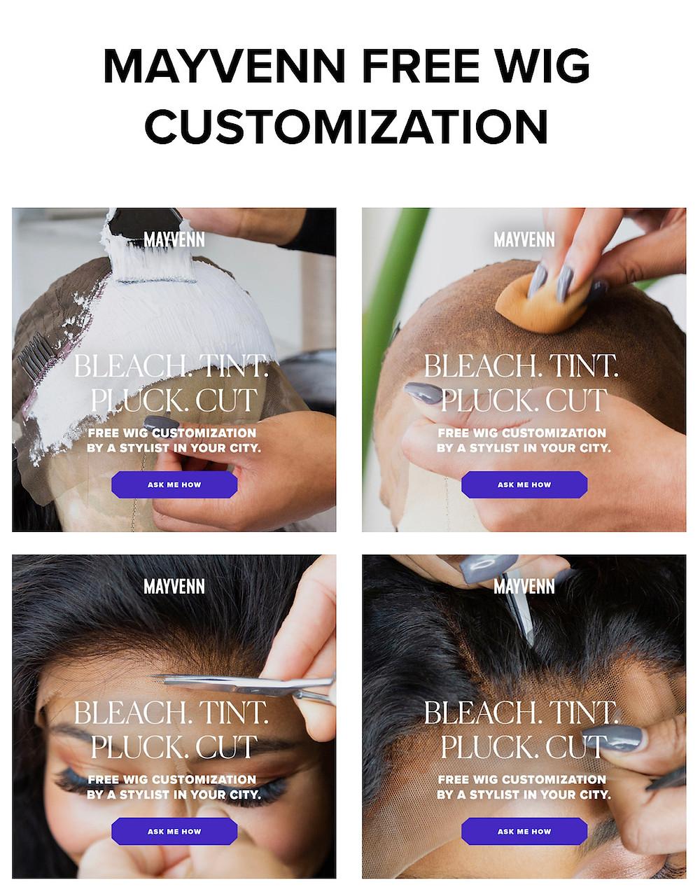 Mayvenn FREE Wig Customization