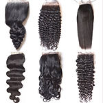 Hair Extensions 4X4 Closures Curl, Gheri