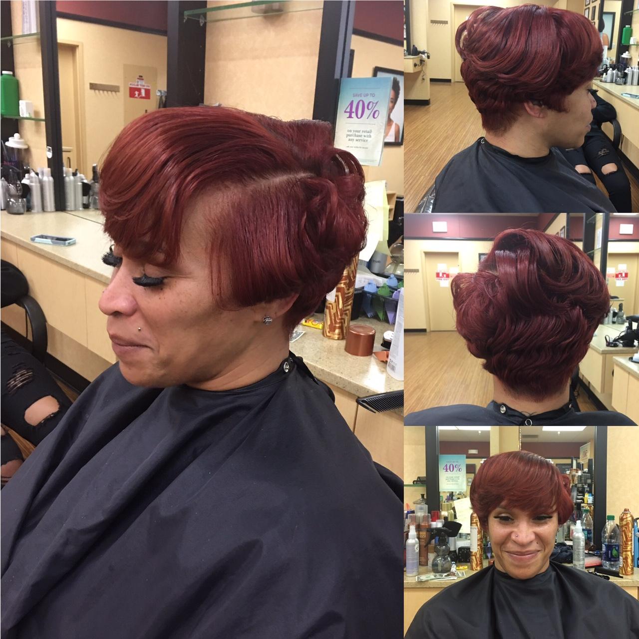 Hair Color, Cut & Style