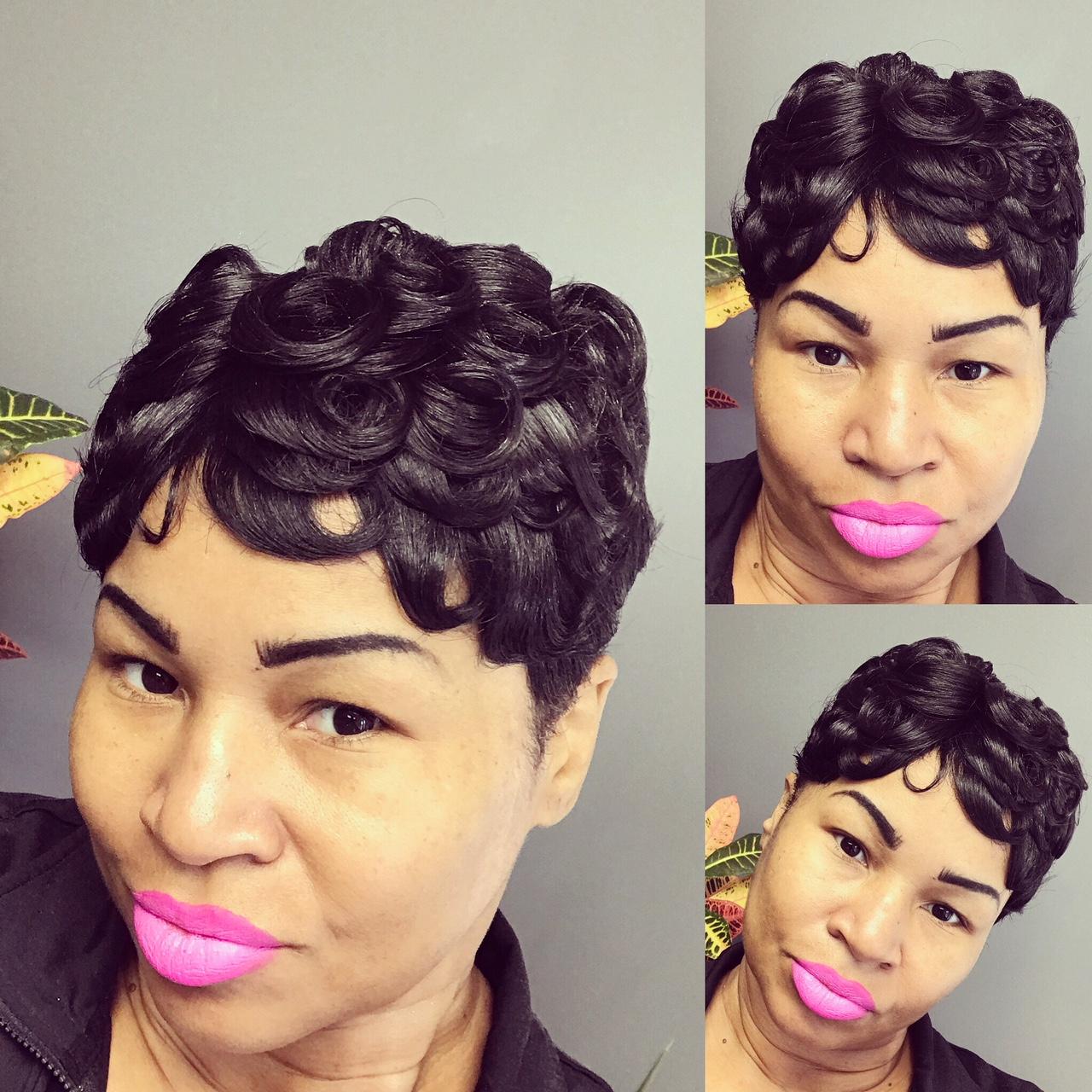 Short Cut & Betty Boop Style