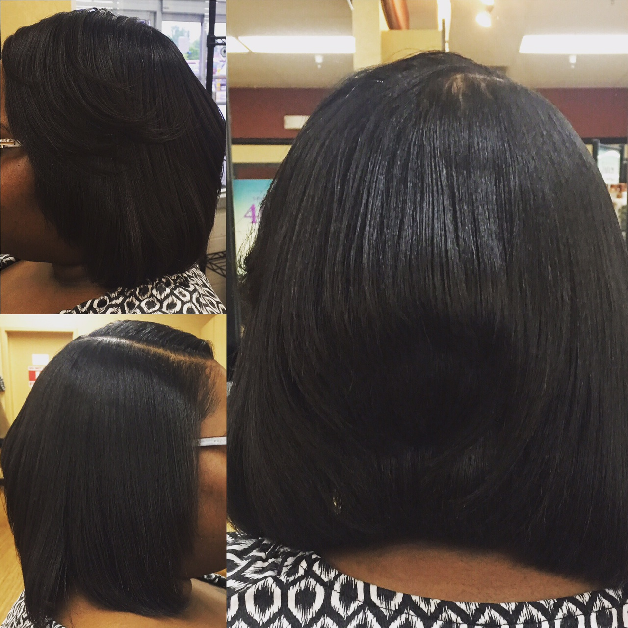 Relaxer, Cut & Style