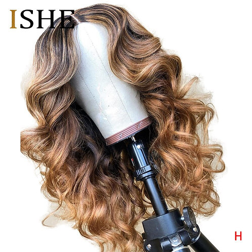 360 Lace Front Wig: Body Wave, Highlight Honey Blonde, 100% Remy HH,  Brazilian
