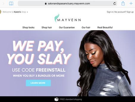 Mayvenn Hair Extensions! FREE INSTALL!!