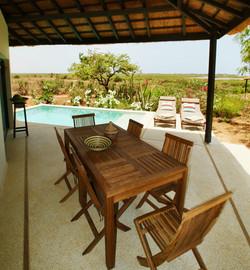 Terrasse privée - Suite supérieure