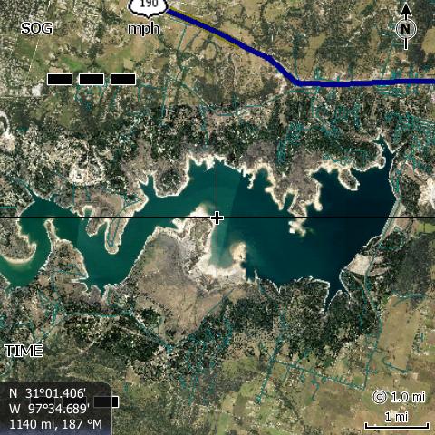 Stillhouse Hollow Lake, TX.