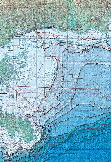 SM026 Breton and Chandeleur Block & Rig Chart