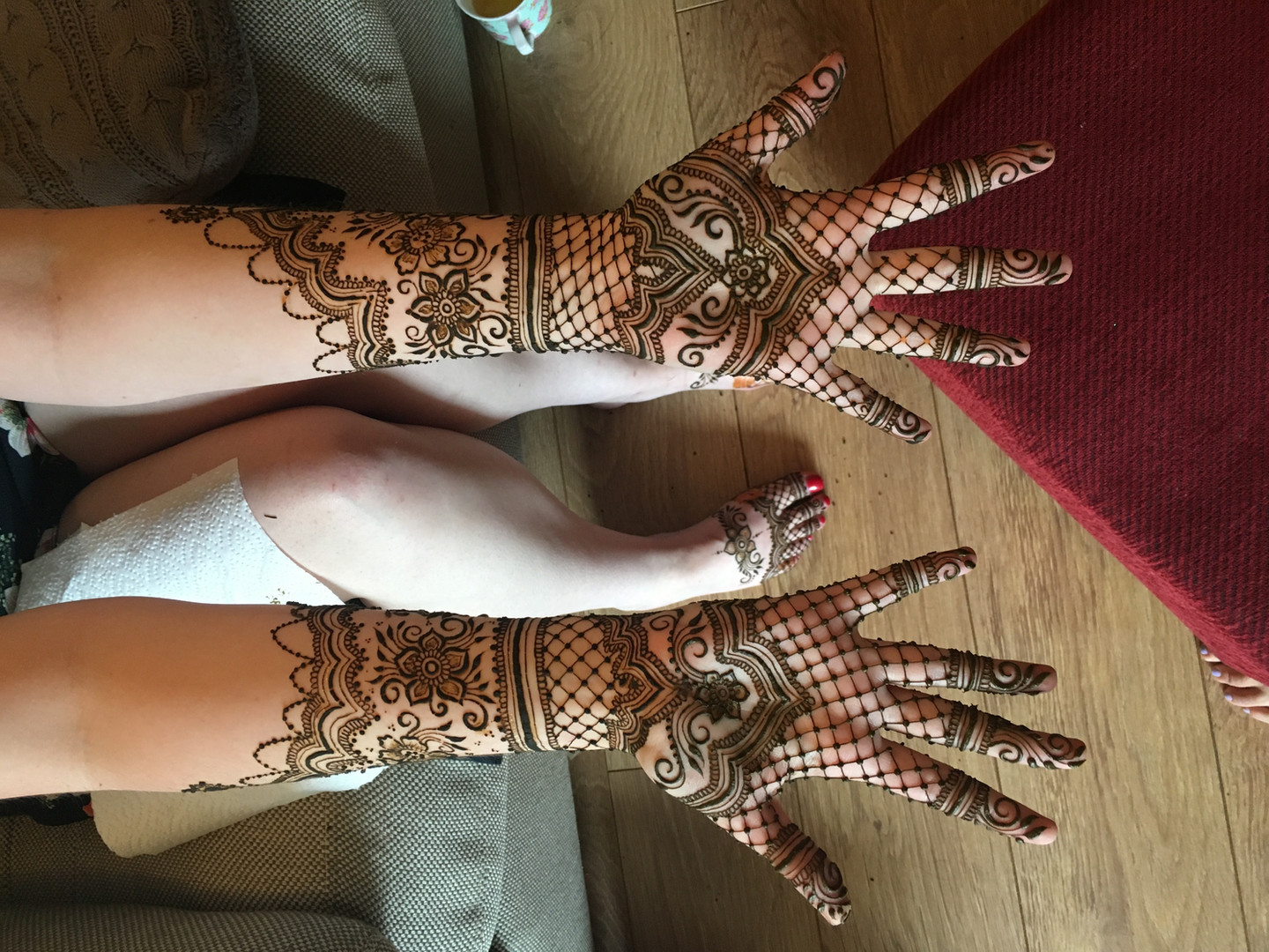Beautiful Bridal Mehndi Norwich