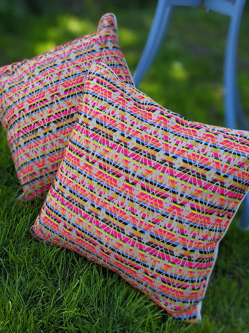 Psychadelic Aztec Cushion
