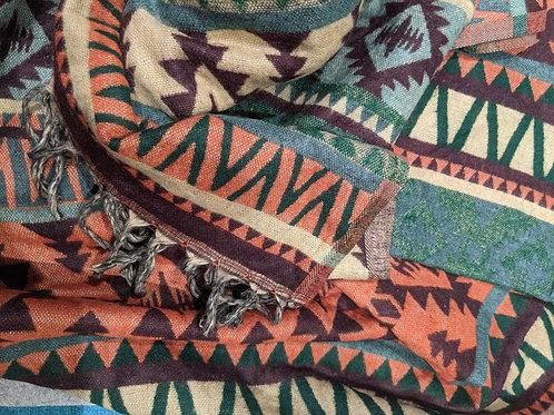Oaxaca Design Cosy Shawl