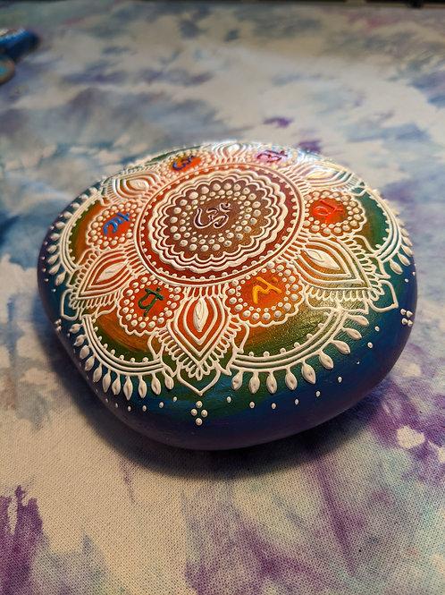 Rainbow Chakra Mandala