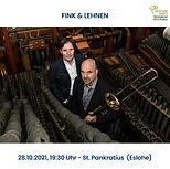 Konzert für Posaune und Orgel am 28.10.2021