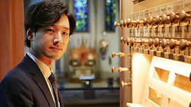 Videoaufnahmen mit Organist Kensuke Ohira