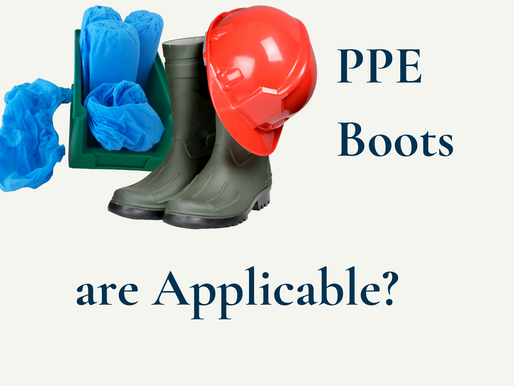 Where do PPE Boots are Applicable?
