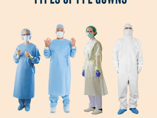 Types of PPE Gowns