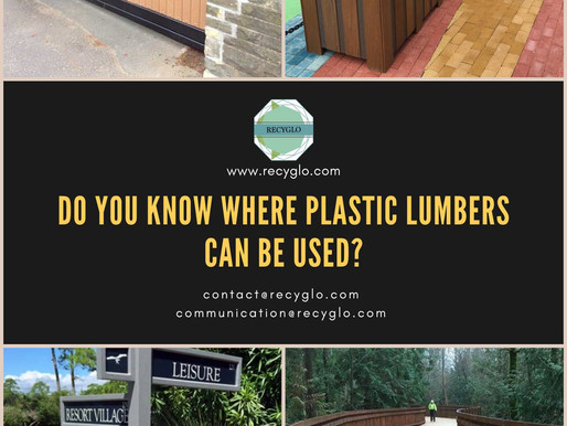 Do You Know Where Plastic Lumbers Can Be Used?