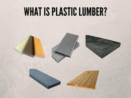 Do You Know What Is Plastic Lumber?