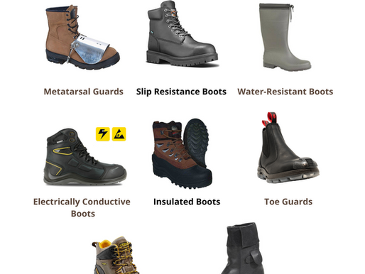 Different Types of PPE Shoes