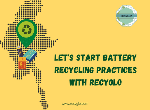 Learn and practice good Battery Recycling Practices with RecyGlo