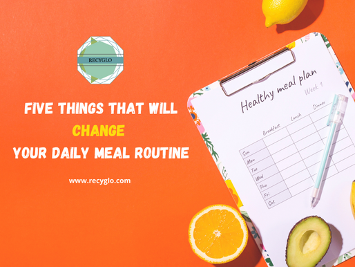 Five Things That Will Change Your Daily Meal Routine