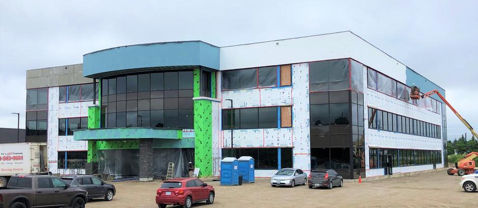 HANLON SOUTH OFFICE BUILDING - EST. COMPLETION FALL 2021
