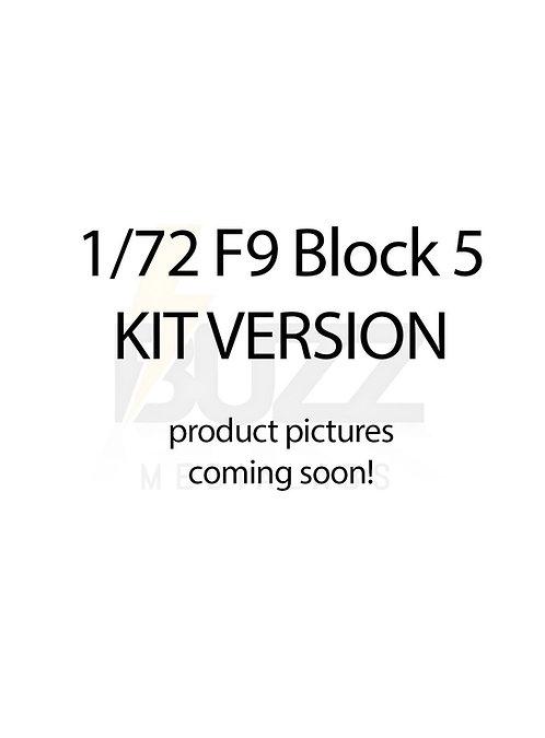 1/72 Falcon 9 Block 5 KIT version